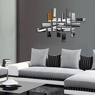 Dekorative Mur Klistermærker - Veggklistremerker i Speilstil Mote / fantasi / 3D Stue / Soverom / Spisestue / Kan fjernes