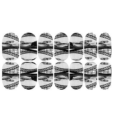 nydelig svart fluorescens natur spiker smykker