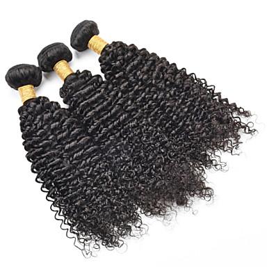 tukku 8 a Brasilian neitsyt Remy tukka 3kpl / paljon käsittelemätöntä brazilian ihmisen hiusten pidennykset kutoo
