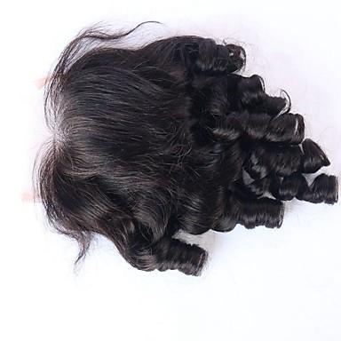 pomppiva kiharat hiukset pitsi sulkemisen kanssa vauvan hiukset