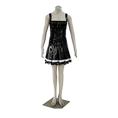Inspirat de Death Note Amane Misa Anime Costume Cosplay Costume Cosplay Peteci Vârf Pentru Bărbați Pentru femei