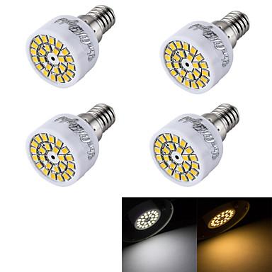 e14 led spotlight r50 24 smd 2835 240lm varm hvit kald hvit 3000k / 6000k dekorativ ac 220-240v