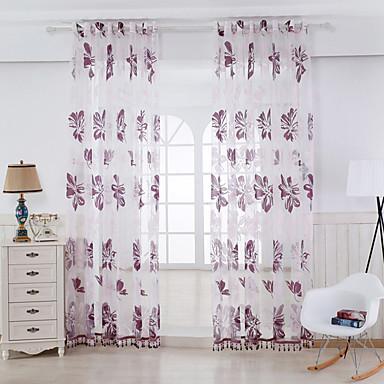 Sheer Curtains Shades Quarto Raiom Oco