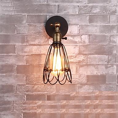 Rusztikus Fali lámpák Kompatibilitás Fém falikar 110-120 V 220-240 V 60W
