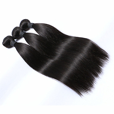 Top quality peruvian hair 3 pcs Lot 150g 6A peruvian Wholesale straight human hair