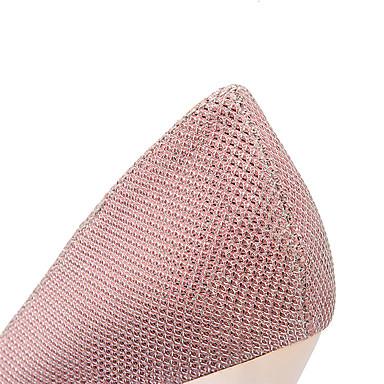 Doré Rose Similicuir Paillette Fille Automne Femme Aiguille PVC Habillé Paillette Eté Printemps Argent Chaussures Mariage Talon 04995312 Brillante Cx6wOwtqd