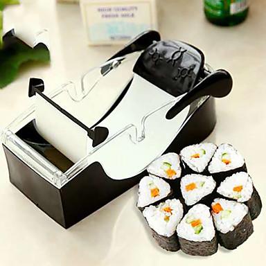 Herstellung von Maultaschen & Sushi Plastik,