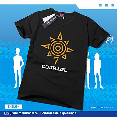 Inspiriert von Digitale Monster / Digimons Cosplay Anime Cosplay Kostüme Cosplay-T-Shirt Druck Kurzarm T-shirt Für Unisex