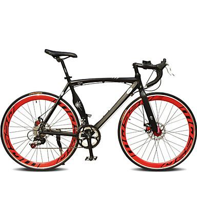 Road Bike Cycling 7 Speed 26 Inch/700CC SHIMANO TX30 Double Disc Brake Ordinary Monocoque Ordinary/Standard Aluminium Alloy