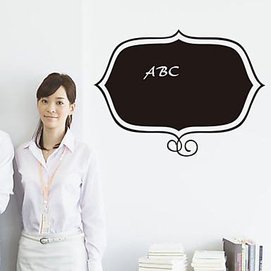 Desenho Animado / Romance / Quadro-negro / Moda / Feriado / Paisagem / Formas / Fantasia Wall Stickers Autocolantes de Parede Quadro-Negro