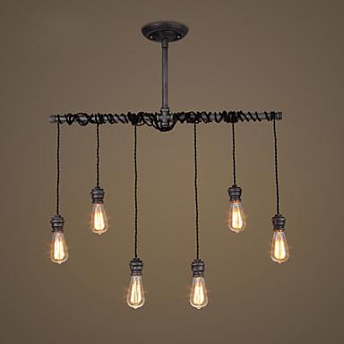 6-Licht Unterputz Deckenfluter - Designer, 110-120V / 220-240V Glühbirne nicht inklusive / 30-40㎡ / E26 / E27