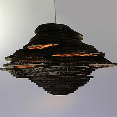 Pendelleuchten ,  Retro Andere Eigenschaft for LED Papier Wohnzimmer Schlafzimmer Esszimmer Studierzimmer/Büro Korridor 1 Glühbirne
