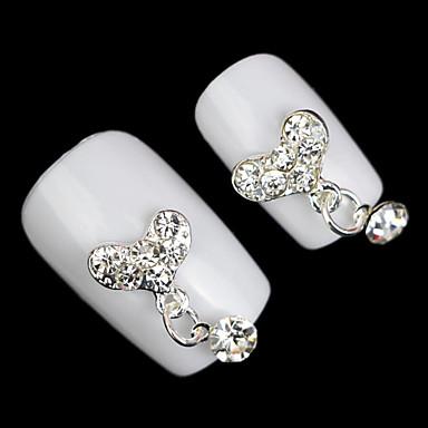5 Nail Art Decoration tekojalokivi Pearls meikki Kosmeettiset Nail Art Design