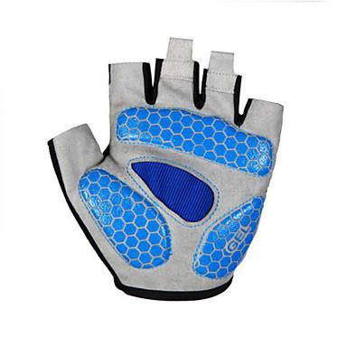 rukavice Bicikl Prozračnost / Podesan za nošenje / Visoka prozračnost (> 15.001 g) Uniseks Srebrna / Plav / CyanNeljepljivo Polyester /