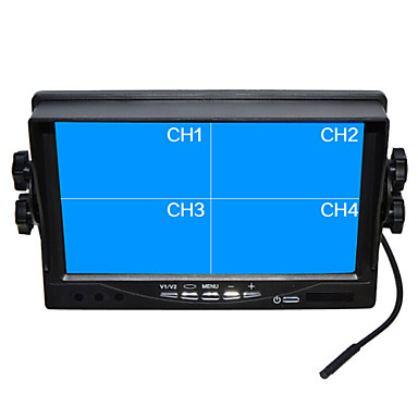 풀 HD 쿼드 TFT-LCD의 자동차 백미러 유와 모니터 7 인치 역방향 백업 카메라 높은 품질을 서