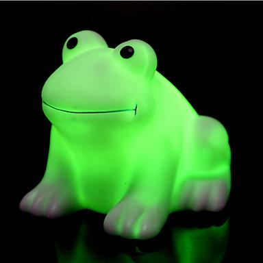 luova väri-muuttuva värikäs onnellinen sammakko johti yövalo korkea laatu