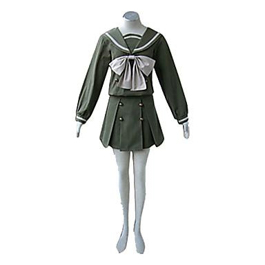 Inspirirana Shakugan no Shana Shana Anime Cosplay nošnje Cosplay Suits / School Uniforms Kolaž Dugih rukava Top / Suknja / Ribbon Za Žene Halloween kostime