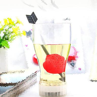 chá coador de amor colher de chá