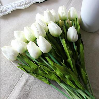 PU Tulppaanit Keinotekoinen Flowers