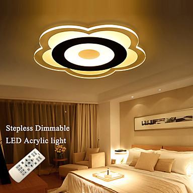 80W תאורת תקרה 360 SMD 2835 6480 lm לבן חם / לבן קר / לבן טבעי עמעום / עובד עם שלט רחוק AC 85-265 V חלק 1