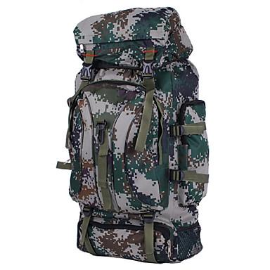 60 L Ryggsekk Pakker Laptop Pack Reiseorganisator ryggsekk Ryggsekk Klatring Camping & Fjellvandring ReiseVanntett Anvendelig