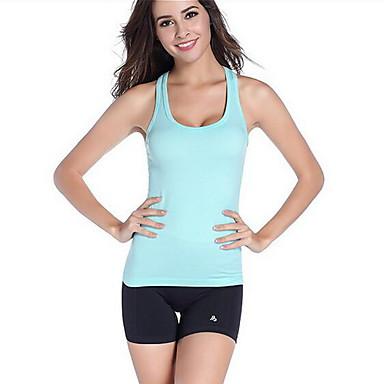 calças de yoga Shorts Respirável Natural Com Elástico Moda Esportiva Vermelho Preto Azul Roxo MulheresIoga Exercício e Atividade Física