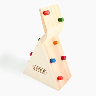 Hamster klettern Haus aus Holz Spielzeug, Spielzeug-Haus-Aktivitäten, 1 Stück