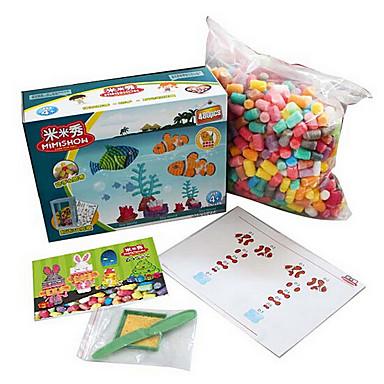 yi departamento tong diy blocos de construção de brinquedos direto da fábrica mimi milho show de aquário 480