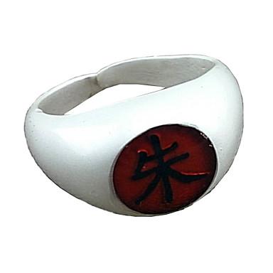 Schmuck Inspiriert von Naruto Itachi Uchiha Anime Cosplay Accessoires Ring Aleación Herrn Damen heiß