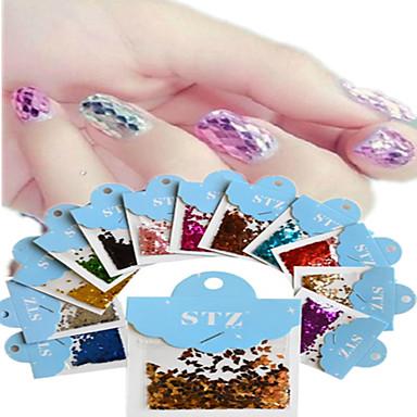 1 Nail Art matrica Absztrakt Rajzfilmfigura Szeretetreméltő Esküvő smink Kozmetika Nail Art Design