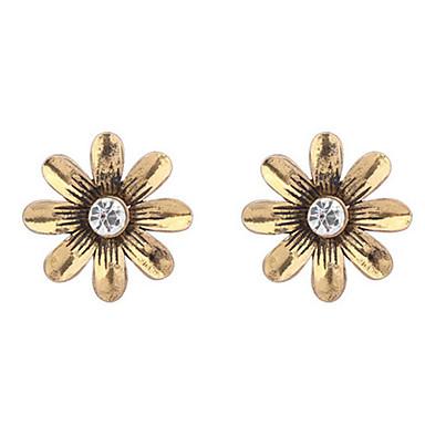Damen Ohrring Legierung Ohne Stein Stud Earrings