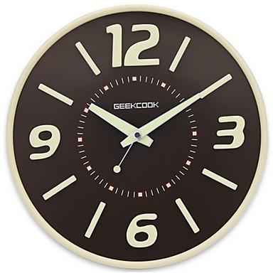 Andre Moderne / Nutidig Wall Clock,Andre Glass 34*34*8