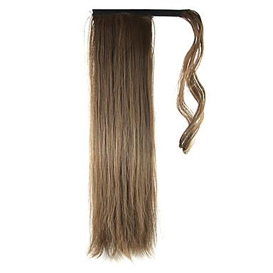 Mit Clip Pferdeschwanz Umwickeln Synthetische Haare Haarstück Haar-Verlängerung Glatt