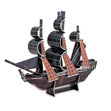 voordelige 3D-puzzels-The Black Pearl 3D-puzzels diy speelgoed voor kinderen en volwassenen puzzel (24pcs)