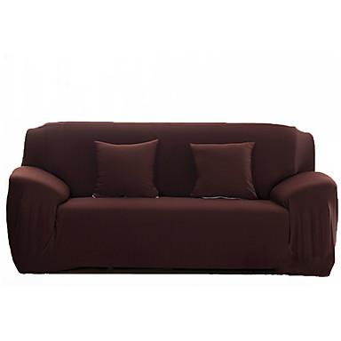 מסורתי פוליאסטר כיסוי ספה דו מושבית, למתוח אחיד ג'אקארד כיסויים