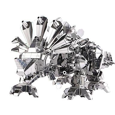 3D - Puzzle Holzpuzzle Metallpuzzle Modellbausätze Dinosaurier 3D Heimwerken Edelstahl Metalllegierung Metal Weihnachten Kinder Geschenk