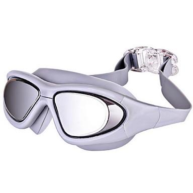 Óculos de Natação Anti-Nevoeiro Anti-Estilhaços Prova-de-Água Resina de Engenharia PC Cinzento Preto Azul N/D