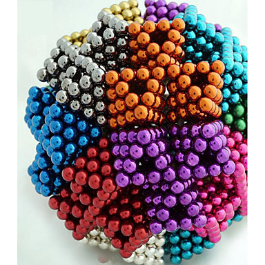 cheap Toys & Games-216/512/1000 pcs 5mm Magnet Toy Magnetic Balls Building Blocks Super Strong Rare-Earth Magnets Neodymium Magnet Stress and Anxiety Relief Office Desk Toys DIY Kid's / Adults' / Children's Boys' Girls'
