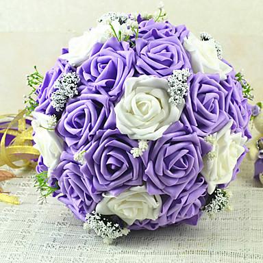 פרחי חתונה זרים חתונה פרחים מיובשים מֶשִׁי 9.06