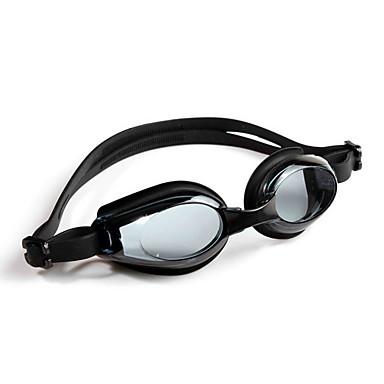 No Svømming Goggles Unisex Justerbar Størrelse / Anti-Skli Stropp PU PC Blå / Sort Sort / Blå