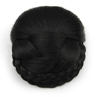 chignons פאות תחרת אדם שחור מקורזל מקצוע שיער מקורזל 2