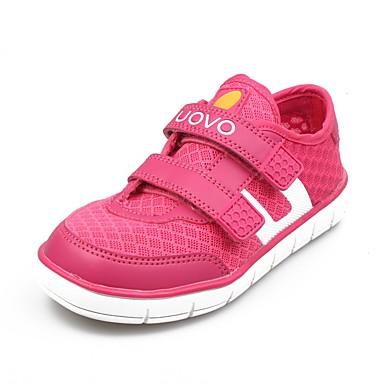 Chaussures bébé-Rose-Décontracté-Tulle / Polyuréthane-Baskets à la Mode