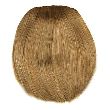 peruca marrom oito centímetros de alta temperatura estilo faca fio de ouro bate cor 2005