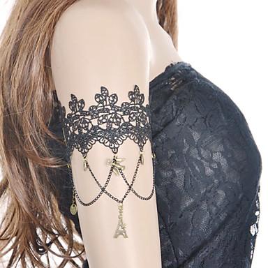 בגדי ריקוד נשים תכשיטי גוף צמיד זרוע שרשרת גוף / בטן שרשרת בוהמי תחרה תכשיטים עבור יומי קזו'אל