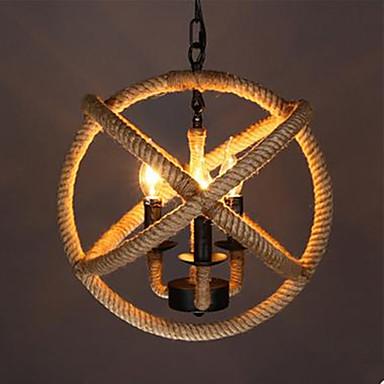 מנורות תלויות ,  רטרו צביעה מאפיין for LED מתכת חדר שינה חדר אוכל חדר מקלחת חדר עבודה / משרד חדר ילדים כניסה מסדרון מוסך