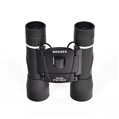 BRESEE 12 32 mm Távcsövek BAK4 Vízálló / Fogproof / Általános / Hordozó tok / Nagyfelbontású / Spektívet 87ft/1000yds 3Centralizált