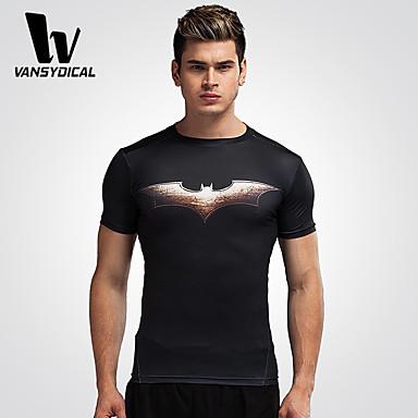 Herrn Laufen T-shirt Strumpfhosen/Lange Radhose Oberteile Atmungsaktiv Rasche Trocknung Videokompression Frühling Sommer Sportbekleidung