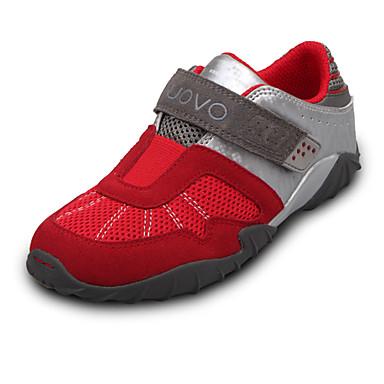 Rød-Baby Sko-Fritid-Semsket lær / PU-Trendy sneakers