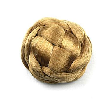 mariée crépus d'or bouclés europe capless de cheveux humains chignons perruques g660205 1011