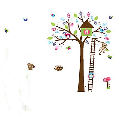 Tiere / Cartoon Design / Romantik / Formen / Fantasie Wand-Sticker Flugzeug-Wand Sticker,pvc 60*90cm